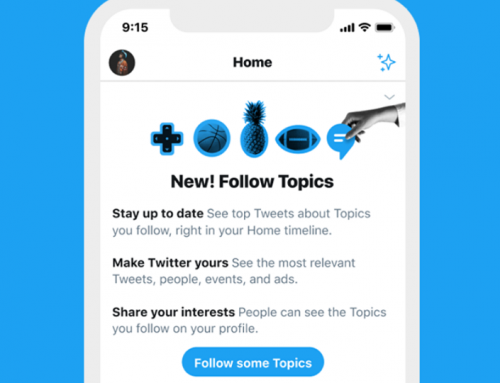 Twitter Launches New Option to Follow Specific Twitter Topics